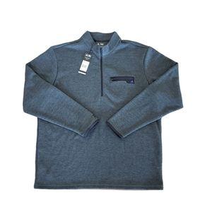 Men's NWT Adidas 1/4 Zip Pullover - XL